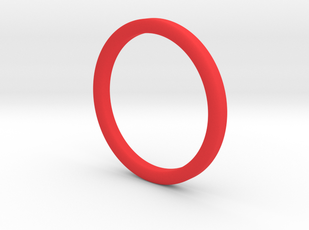 Finger Hula Hoop in Red Processed Versatile Plastic