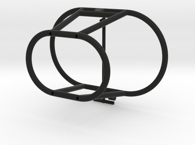 Elbow Lock With Belt Support in Black Natural Versatile Plastic