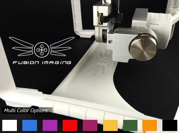 Phantom 3 Gimbal Guard - Customize in White Strong & Flexible Polished