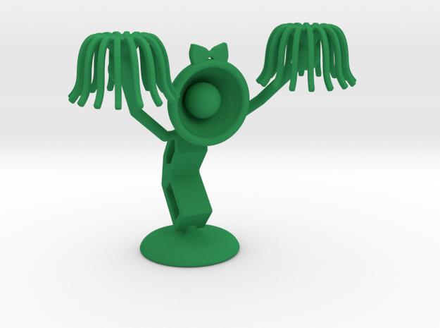 """Lele as """"CheerLeader"""" : """"Let's Cheer up!"""" - DeskTo in Green Processed Versatile Plastic"""
