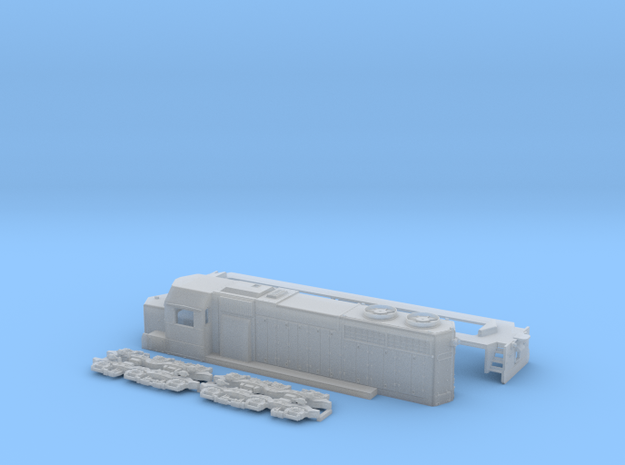 TT Scale SDL39 in Smooth Fine Detail Plastic