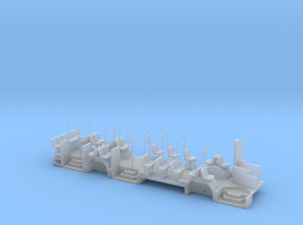 Wiener Linien LU200 Fahrwerk in Smooth Fine Detail Plastic