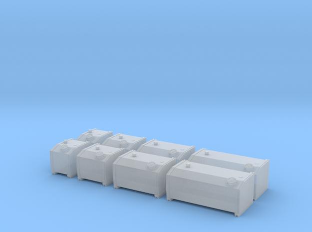 H0 1:87 Hydrauliköltanks in Smooth Fine Detail Plastic