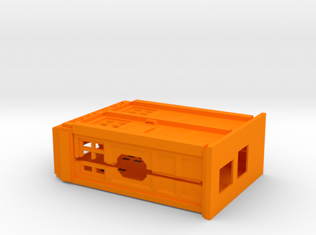 Raspberry Pi case in the shape of a Police Box  3d printed
