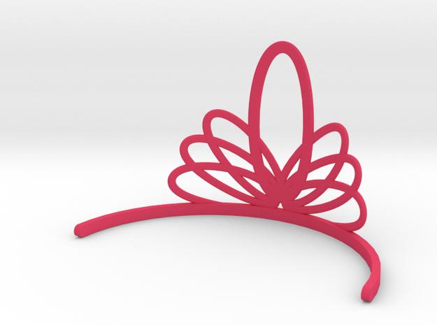 Princess Tiara in Pink Processed Versatile Plastic