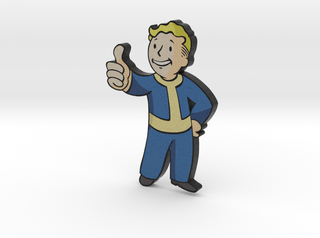 Fallout Pipboy in Full Color Sandstone