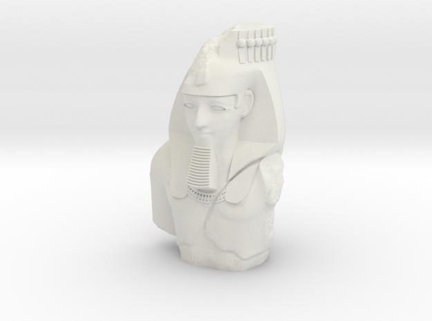 28mm/32mm Younger Memnon/Ramesses/Ozymandias in White Natural Versatile Plastic