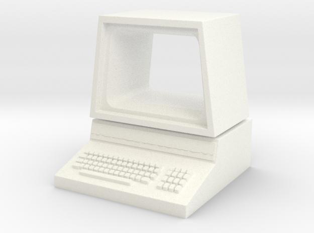Pet Computer in White Processed Versatile Plastic