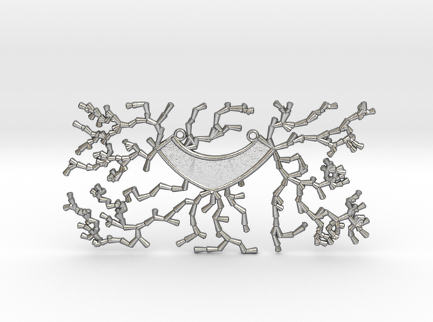 Growing Necklace v.3 in Natural Silver