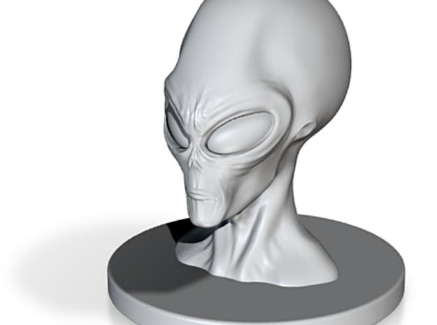 3 Inch Alien Profit Bust 3d printed