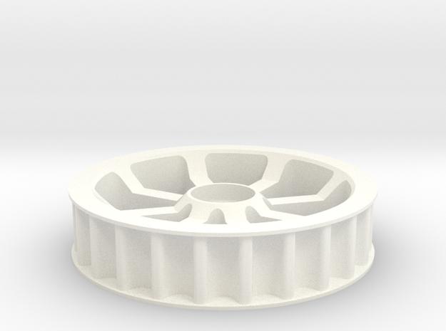 Idler 24T 8P in White Processed Versatile Plastic