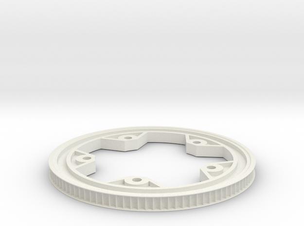 80T 8P 130BCD 2flange in White Natural Versatile Plastic