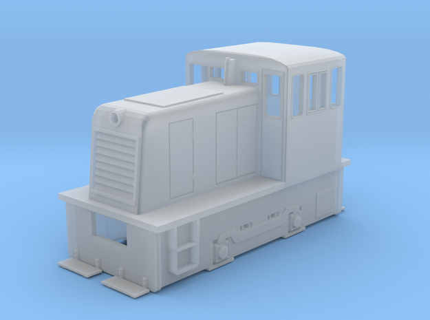 N Scale GE 25-Tonner in Smooth Fine Detail Plastic