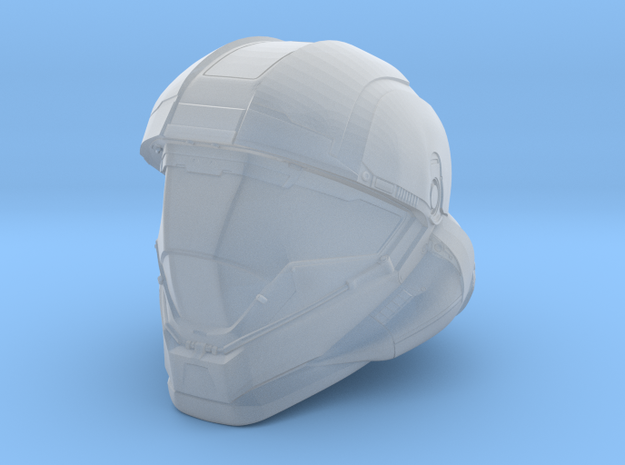 Halo 5 Buck/Helljumper 1/6 scale helmet in Smooth Fine Detail Plastic