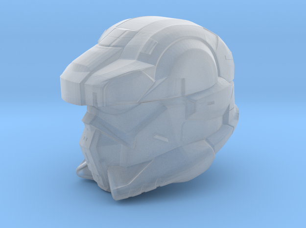 Halo 4 EOD helmet 1/6 scale helmet in Smooth Fine Detail Plastic