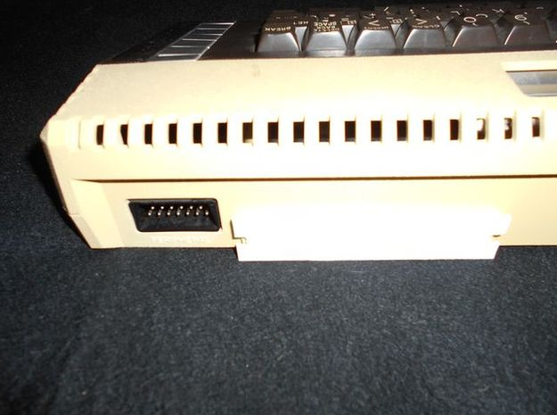 Atari 600/800XL Parallel Bus Cover in White Strong & Flexible Polished