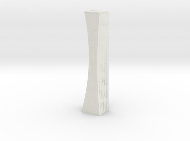 Anki & Guild Cityscape - The Curve in White Natural Versatile Plastic