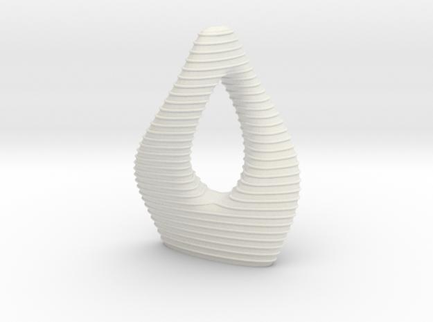 Anki & Guild Cityscape - The Mobius in White Natural Versatile Plastic