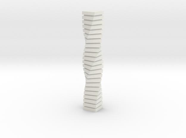 Anki & Guild Cityscape - The Helix in White Natural Versatile Plastic