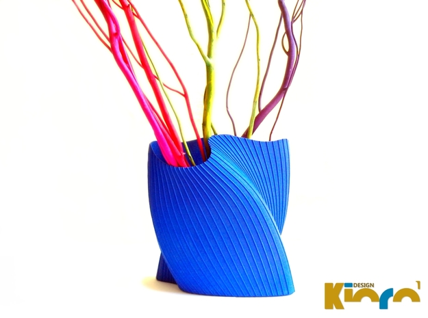 "wave vase ""Touch"""