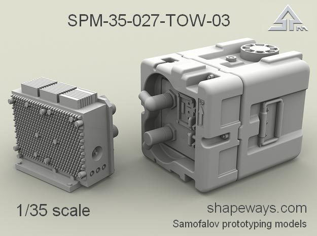 1/35 SPM-35-027-TOW-03 TOW battery in Frosted Extreme Detail
