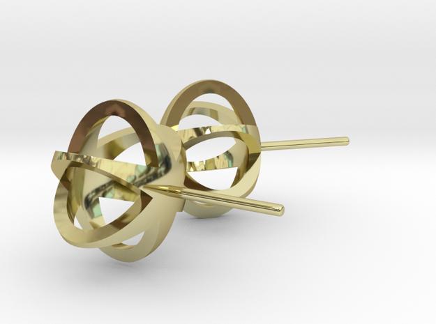 3D STAR GLITZ STUD EARRINGS