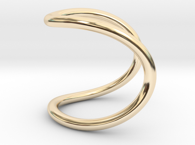 ring of infinity in 14K Yellow Gold