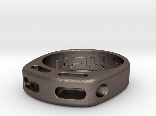 US7 Ring XX: Tritium (Stainless Steel)