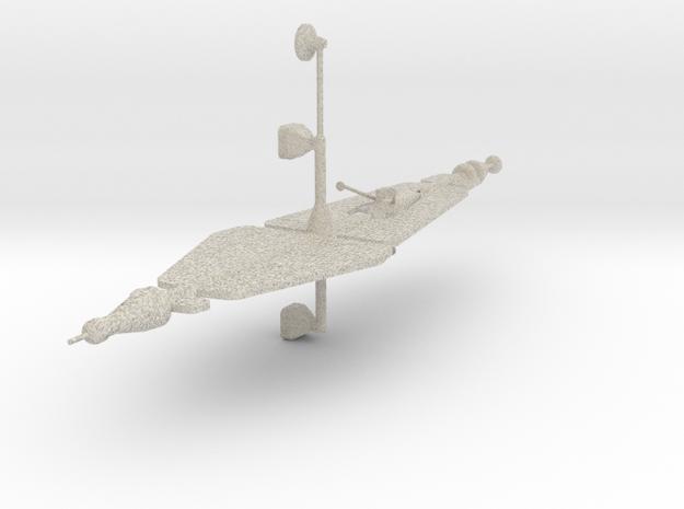 Ion Spaceship in Sandstone