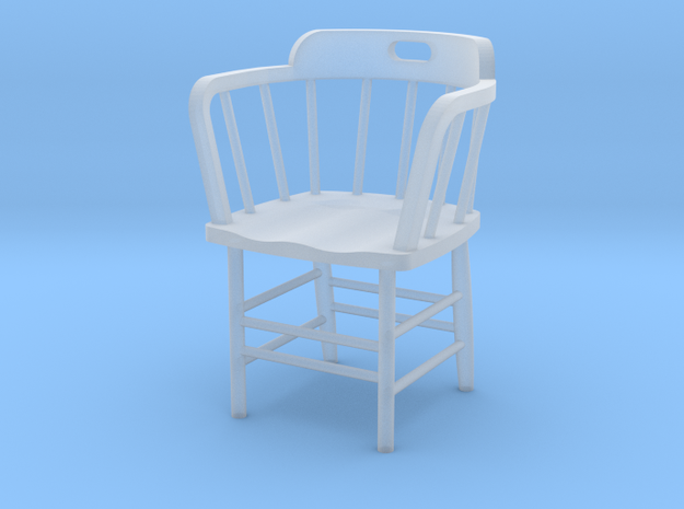 Caboose Chair Doll House 1/24th scale in Smooth Fine Detail Plastic