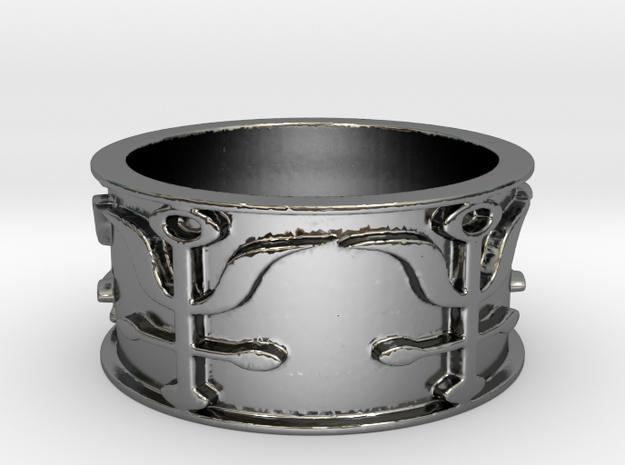Antimony Ring Size 11.75 in Premium Silver