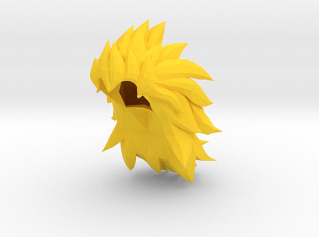 Custom Vegeta SSj3 Inspired Lego