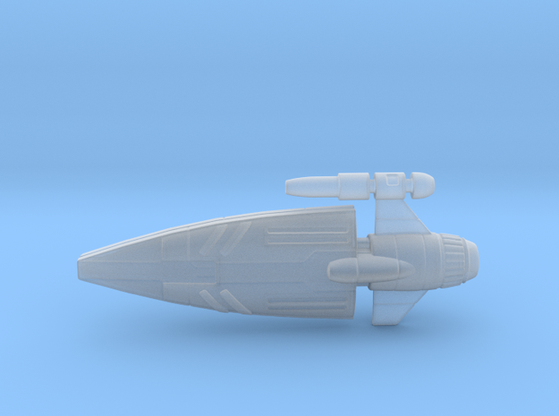 Side Cannon ship Hollow in Smooth Fine Detail Plastic