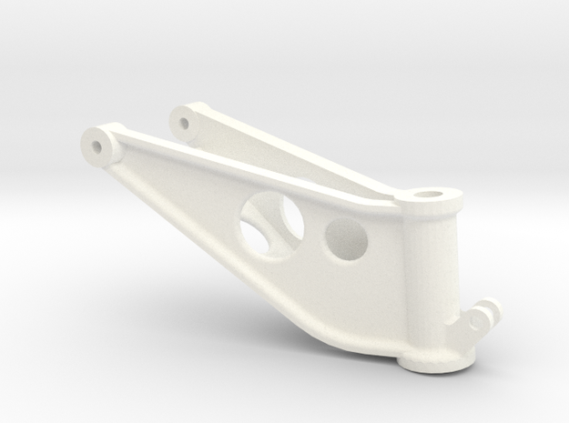 Westland Wessex Tail undercarriage yoke in White Strong & Flexible Polished