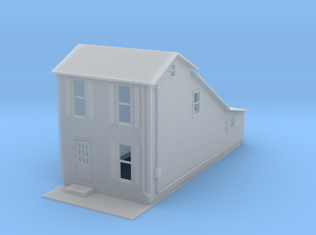 House Two Story Z Scale in Frosted Ultra Detail