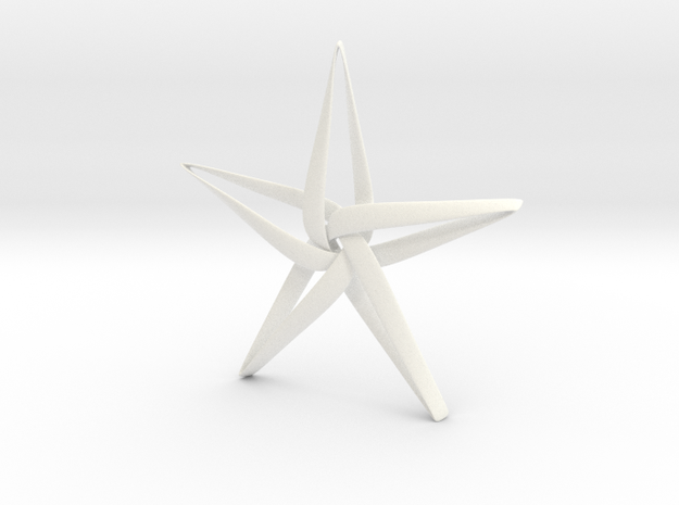 Star in White Strong & Flexible Polished