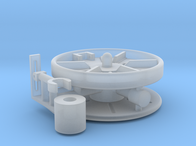 1/16 Turret Cable Reel in Frosted Ultra Detail