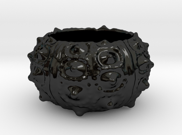Porcelain Sea Urchin Candle Holder