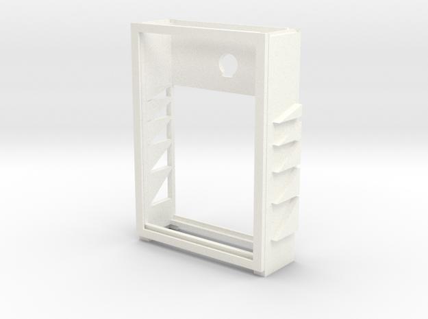 CARD DECK SMALLER in White Processed Versatile Plastic