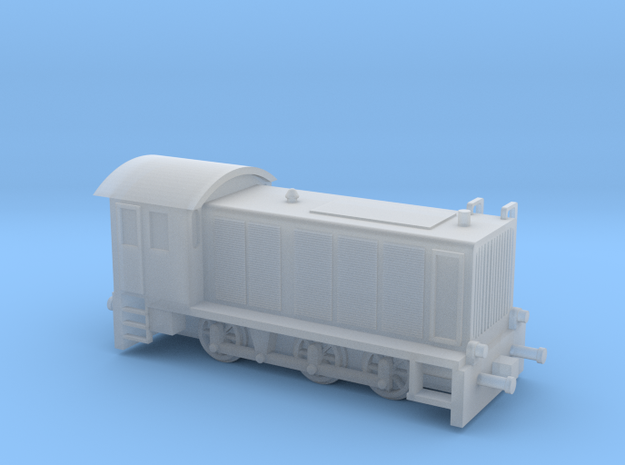 1:144 German GW360 C14 Locomotive in Smooth Fine Detail Plastic