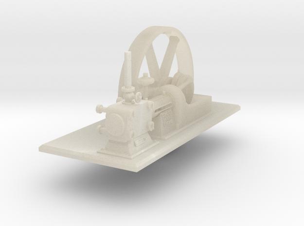 Corlis Engine Final Full Flywheel in White Acrylic