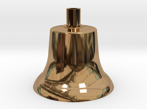 BLW 85 Lb. Bell .625 Plus 1% in Polished Brass
