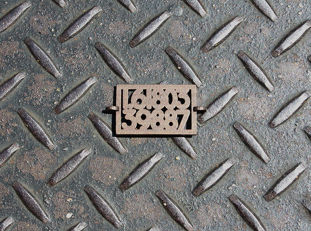 Phi in Matte Bronze Steel