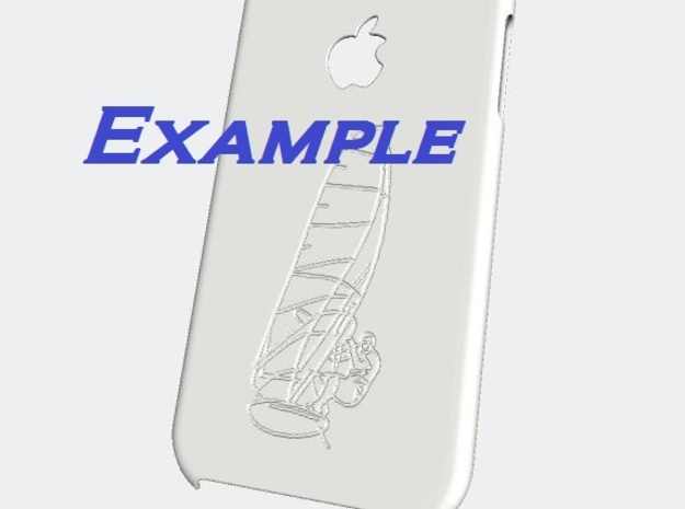 iphone 6 case - customizable in White Strong & Flexible Polished