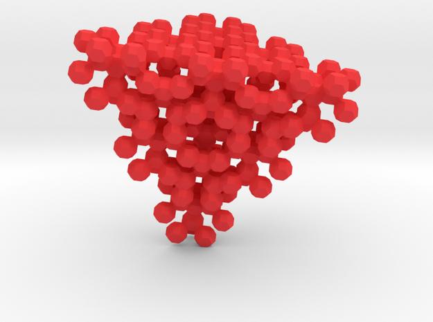 Ultrablock Tetrahedron  3d printed