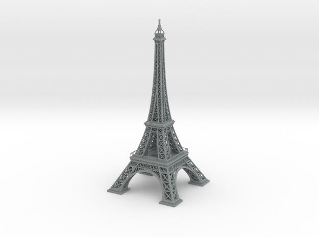 Eiffel Tower in Polished Metallic Plastic