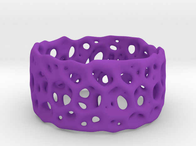 Frohr Design Bracelet Radiolaria Light in Purple Strong & Flexible Polished