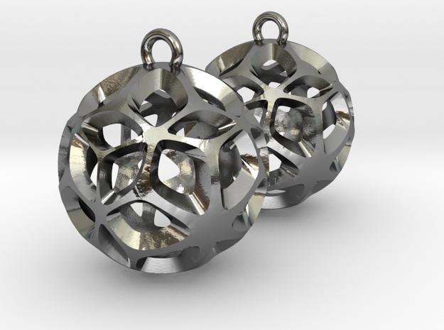 Orion-earrings 3d printed