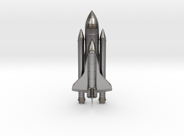 Space+Shuttle+Atlantis+3 in Polished Nickel Steel