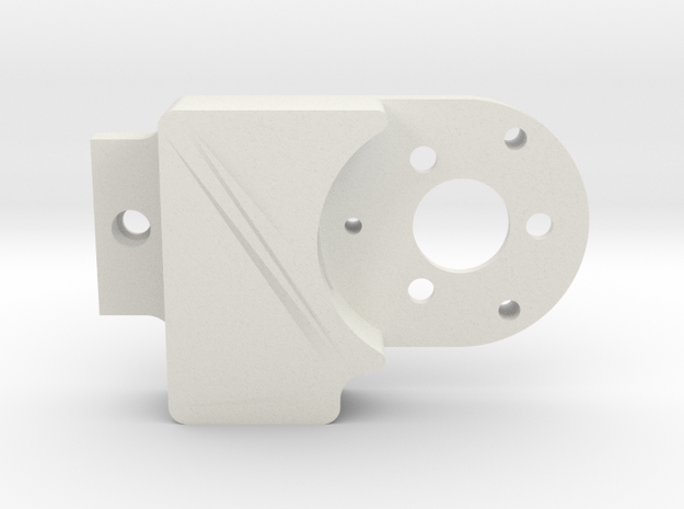 DJI Phantom 3 Gimbal repair Replacement Roll Arm C in White Natural Versatile Plastic